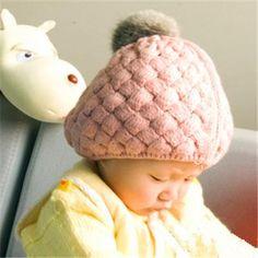ANGORA earflaps Fuzzy Ball Beret Baby's Caps Beret, Baby Hats, Winter Hats, Crochet Hats, Beanie, Cap, Knitting Hats, Baseball Hat, Berets
