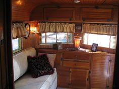 looks really cozy!! I could use some ideas for my travel trailer.
