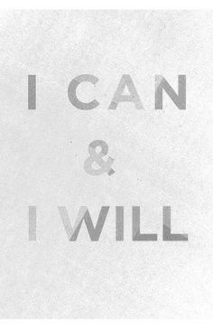 I can. Message Quotes, Inspirational Message, Inspiring Messages, Inspiring Quotes, Diet Quotes, Diet Inspiration, Self Realization, Thought Provoking, I Can