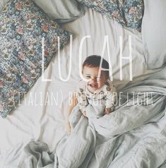 Find a Name for your Baby! Find a Name for your Baby! - Boy Baby Names - Ideas of Boy Baby Names - When we have a boy Yes Lucah ! Baby Boy Name When we have a boy Yes Lucah ! Pretty Names, Cute Baby Names, Unique Baby Names, Cool Baby, Baby Must Haves, Baby Boys, Romantic Girl Names, Boy Girl Names, Names For Boys