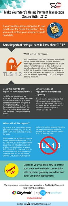 Foolproof safety of Payment transactions data is top priority. Is it your too? Be first to upgrade to PCI-compliant TLS 1.2 by Citytech Software to ensure it. Log on to www.citytechcorp.com/