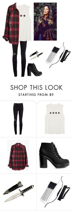 """Bethany Salvatore"" by jordyn-pegg ❤ liked on Polyvore featuring Closed, Madewell and H&M"