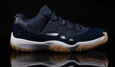 Are You Buying The Air Jordan 11 Low Navy Gum This Weekend?