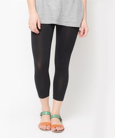 Look at this Caralase Black Capri Leggings on #zulily today!