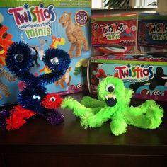 #Twistios #WeVeel #monsters #creative #twist #fun #craft
