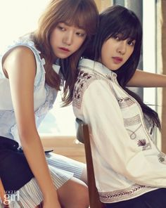 A Pink - Vogue Girl Magazine May Issue '15