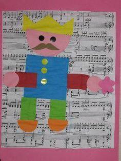 Princess Castle, Prince And Princess, Petite Section, Diy Paper, Paper Crafts, Kids Collage, Castle Crafts, Art For Kids, Crafts For Kids