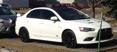 My 2014 White on Black Ralliart Premium
