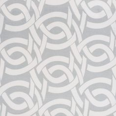 Highland Knot Fabric - Fog | Serena & Lily.  its 100% cotton, but a canvas so its crisper.  it is upholstery weight.  i'll pin what it looks like on a chair.