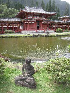 Byodo-In Temple on Oahu