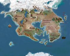 Map of the lands of Amassia See the making of video here --> http://www.akwilder.com/images/Amassia_Map_02_insta.mp4