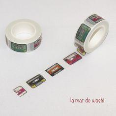 Washi Tape cassetes