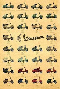 30 Models Italian Scooter Piaggo Vespa Old Classic Motorcycles Italy Piaggio Vespa, Vespa Ape, Scooters Vespa, Motos Vespa, Moto Scooter, Lambretta, Vespa Motorcycle, Vintage Vespa, Vespa Retro