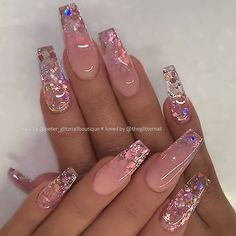 Top Awesome Coffin Nails Design 2019 You Must Try - Coffin Nails . - Nageldesign top awesome coffin nails design 2019 you have to try – coffin nails – to # Nails - Best Acrylic Nails, Summer Acrylic Nails, Acrylic Nail Designs Coffin, Summer Nails, Pastel Nails, Nail Swag, Stylish Nails, Trendy Nails, Perfect Nails