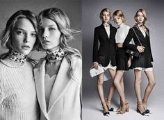 Dior Releases Spring 2016 Campaign Patrick Demarchelier Patrick Demarchelier, Fashion Poses, Fashion Shoot, Editorial Fashion, Fashion Beauty, Raf Simons, Bns Fashion, Good Looking Women, French Fashion Designers