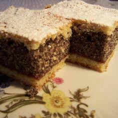 Egy finom Emeletes mákos sütemény ebédre vagy vacsorára? Emeletes mákos sütemény Receptek a Mindmegette.hu Recept gyűjteményében! Cake Cookies, Sweets, Baking, Food, Cakes, Gummi Candy, Cake Makers, Candy, Bakken