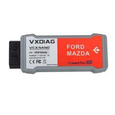 VXDIAG VCX NANO for Ford/Mazda 2 in 1 with IDS V100.01