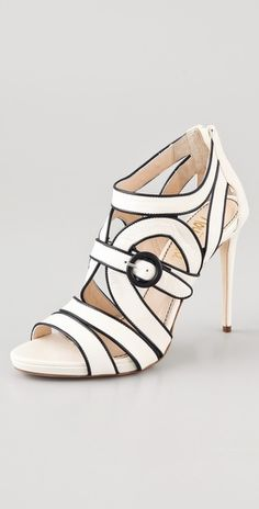 Jerome C. Rousseau                	              	            	  	            	  	                                        Tesla Strappy High Heel Sandals