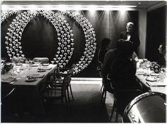 American Restaurant - designed by Warren Platner Associates Architects - 1967
