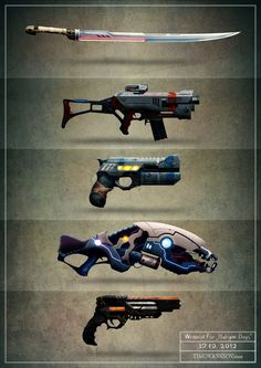 arms / weapons