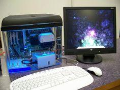 Como montar um micro num aquário - http://updatefreud.blogspot.com/2010/07/monte-seu-micro-num-aquario.html?fb_locale=pt_BR