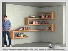 DIY Floating Shelves, bookshelf, and Wall Shelves Easy, Simple Diy Furniture, Furniture Design, Diy Casa, Shelf Design, Home Projects, Floating Shelves, Floating Desk, Sweet Home, Room Decor