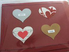 OOAK Valentine Greeting Card Wedding Anniversary by HeidiKindFinds