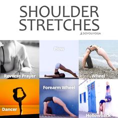 A stretch a day keeps the tension away | Shoulder Stretches | Yoga Stretches #YogaPosesandStretches