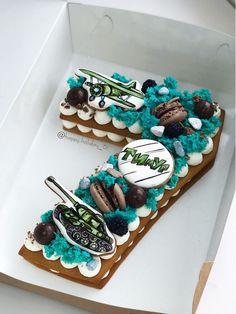 New Cake Designs Anniversaire Simple Ideas Number Birthday Cakes, Fruit Birthday Cake, Number Cakes, Birthday Cookies, Oreo Cake, Cake Cookies, Cupcake Cakes, Unicorne Cake, New Cake Design