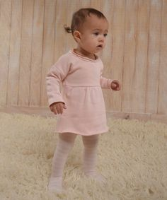 This Pink Marthe Organic Dress - Infant, Toddler & Girls is perfect! #zulilyfinds