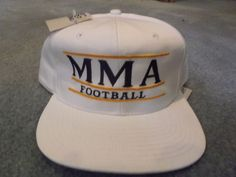 Vintage snap back hat mma football by the game nwt rare 20bc3d5314f