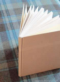 well laid out diy book binding directions