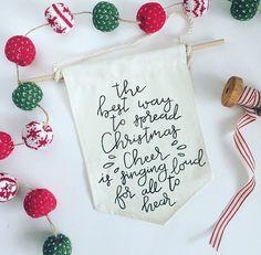 Elf Quote Canvas Banner The Best Way to by EdenAndEmeralds