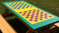 How To Paint a Chessboard Tabletop | KaBOOM!