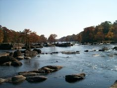 Feeling like trying your luck at casting a line? Take in the beautiful scenery of the Lower Mountain Fork River in Broken Bow, Oklahoma that is part of Beavers Bend State Park and catch some fish while you're at it.