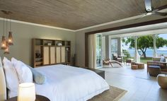Plan a getaway at The St. Regis Mauritius Resort, a luxury hotel offering luxury accommodations, an idyllic beach, spa and more in the South West of Mauritius. Lux Hotels, Hotels And Resorts, Luxury Interior Design, Best Interior, Room Interior, Spa, Monte Carlo, Mauritius Resorts, Mauritius Island