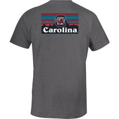 Image One Women's University of North Carolina Comfort Color T-shirt (Grey, Size Large) - NCAA Licensed Product, NCAA Women's at Academy Sports