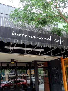 At International Cafe you can find gyros, moussaka, babaganush, soup, salad, and more. Located at 26 S. 9th St. in The District.