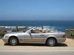 # 17532 This 1997 Mercedes-Benz SL-Class SL320 features a 3.2L L6 FI 6 cyl engine. It is equipped with a Automatic transmission. The vehicle is Tan with a Tan interior. - Mercedes 1997 SL320 Convertible with Lift Off Hardtop. $85,000 car when new! Now, Only $8,950 The Ultimate Car to Cruise The California Coast! Desert Sand with Parchment Leather. Extreamly powerful and smooth. Every conceiveable option and feature! Rollbar powers up and down and has Mesh wind reducing panel.