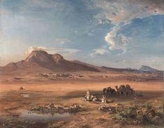 Carl Rottmann - Korinth mit Akrokorinth 1847