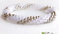 68 Fantastiche Immagini Su Uncinetto Con Perline Crochet Bracelet