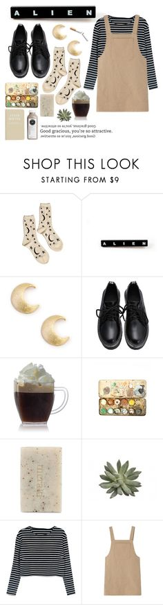 """""""good gracious, you're so attractive."""" by aprildeliahxo ❤ liked on Polyvore featuring Hansel from Basel, Sole Society, Meraki, tumblr, indie and grunge"""