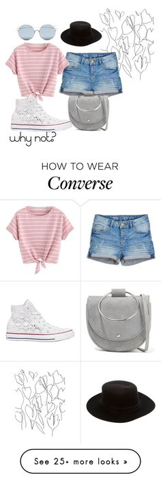 """""""why not?"""" by fandomgirl46 on Polyvore featuring Blume, Converse, Theory, For Art's Sake and Janessa Leone"""
