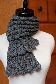 crochet scarf pattern by amandawest