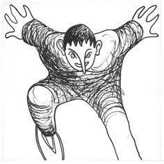 Muñeco … … personaje residente cercano a la Lee Streel (Oakland, California) version 4 © All rights reserved Ramiro Quesada Art