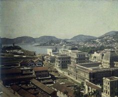 Centro, visto do Morro do Castelo c. 1914