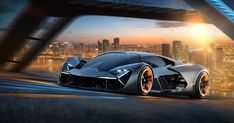 Lamborghini and MIT Are Building a Self-Healing Electric Sports Car