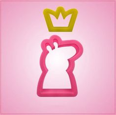 Cartoon Pig and Crown Cookie Cutter Set