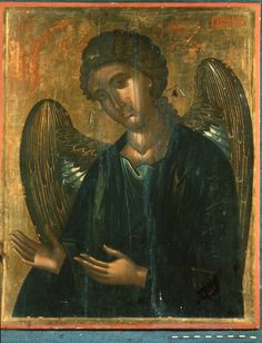 Saint Gabriel, Date:Unknown, tempera on panel; The Sinai Icon Collection, Princeton University Byzantine Icons, Byzantine Art, Saint Gabriel, Best Icons, Icon Collection, Religious Icons, Art Icon, Orthodox Icons, In This World