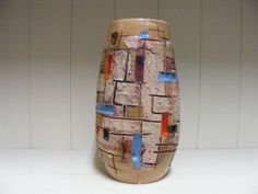 Fratelli Fanciullacci  Pompeii vase by RetroVases on Etsy